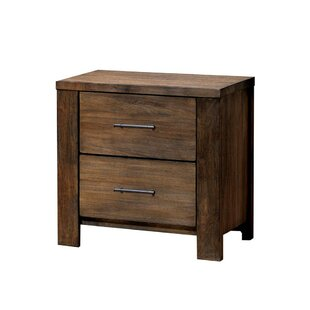 Locklin 2 Drawer Nightstand by Millwood Pines