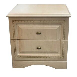 Affordable Price Nieve 2 Drawer Nightstand by Astoria Grand