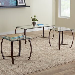 Kristie 3-Piece Coffee Table Set