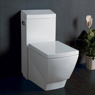 Superbe Aphrodite Contemporary 1.3 GPF Elongated One Piece Toilet