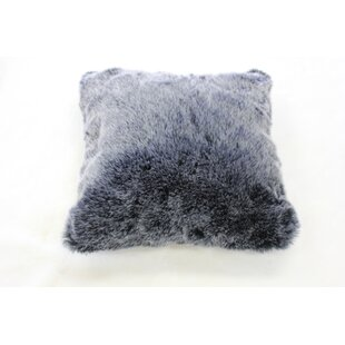 Chilhowee Faux Fur Throw Pillow