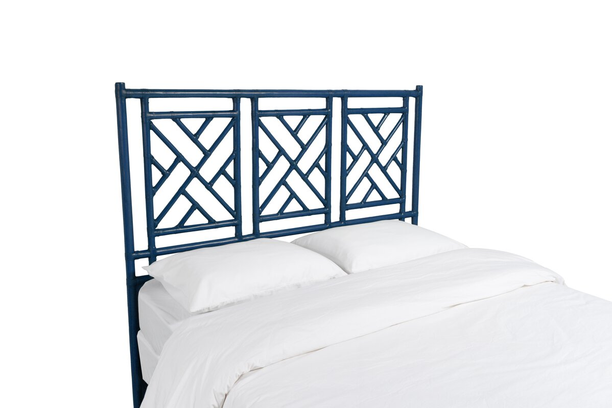 David Francis Furniture Chinese Chippendale Open-Frame Headboard ...