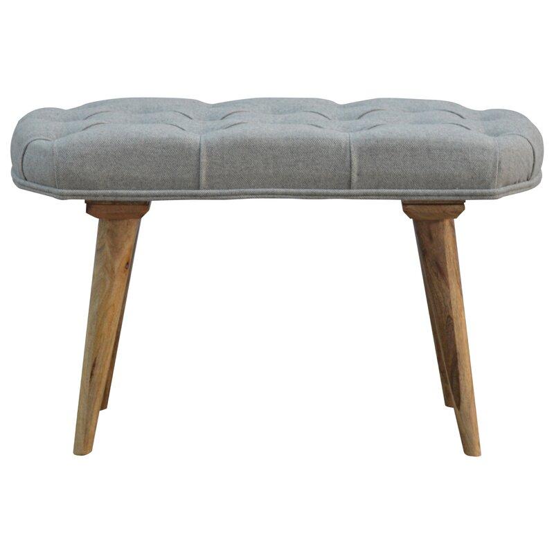 hazelwood home gepolsterte schlafzimmerbank. Black Bedroom Furniture Sets. Home Design Ideas