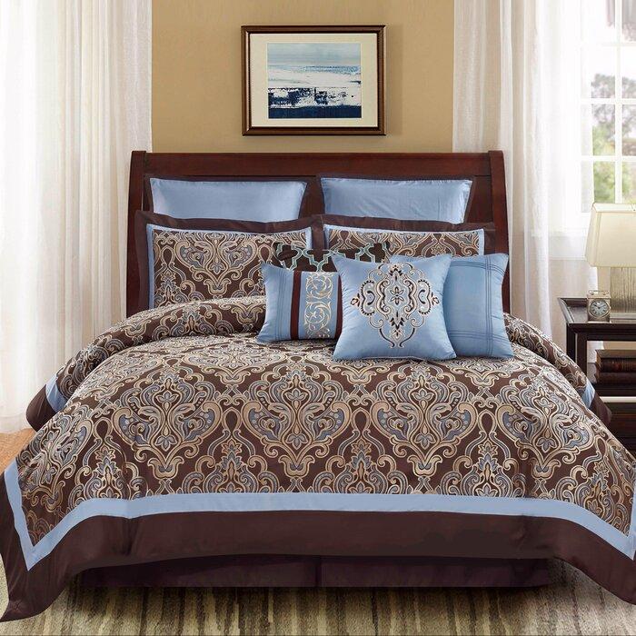by j pin king fleur romance lis products spa queen set bedding york comforter new de