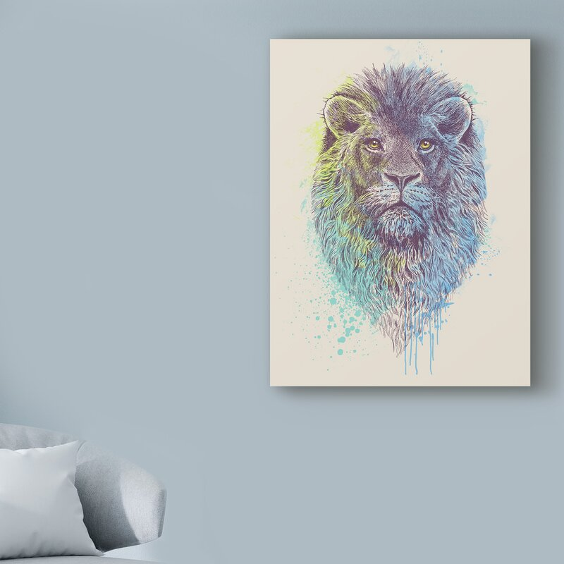 Canvas artwork depicting the Lion King decorative picture canvas painting wallpaper decor for the living room//40x60cm frameless