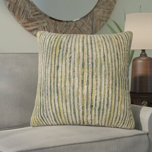 Del Rey Oaks Decorative 100% Cotton Throw Pillow
