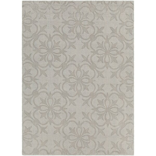 Darby Home Co Beazer Patterned Tranditional Gray Area Rug Wayfair