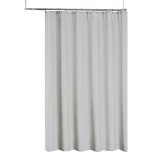 Modern Gray Silver Shower Curtains