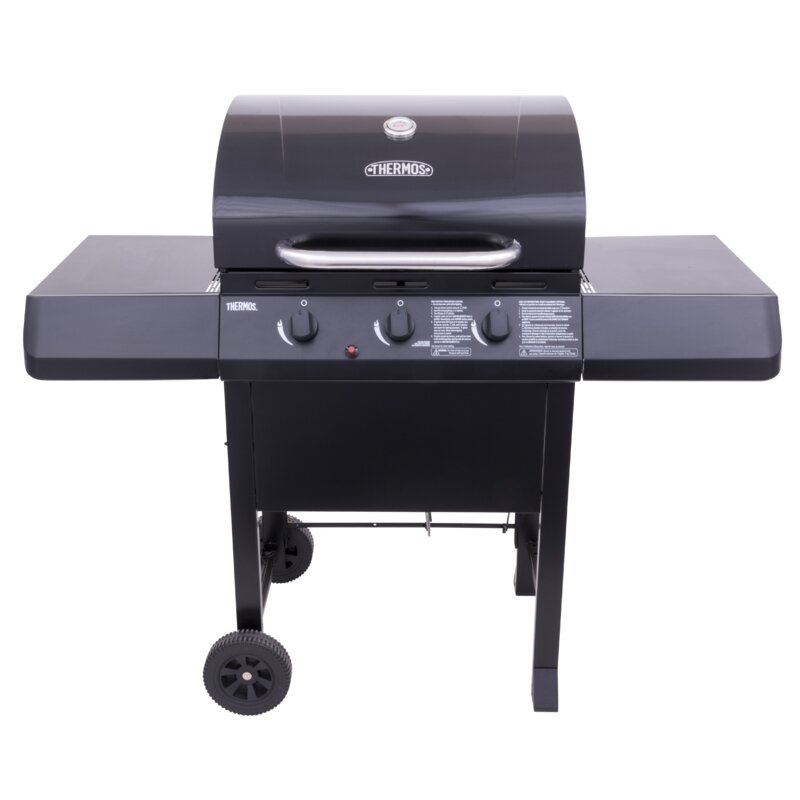 Thermos 3 Burner Propane Gas Grill Reviews Wayfair