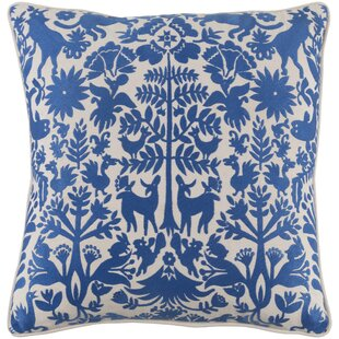 Taza Cotton Pillow Cover by Bungalow Rose Wonderful