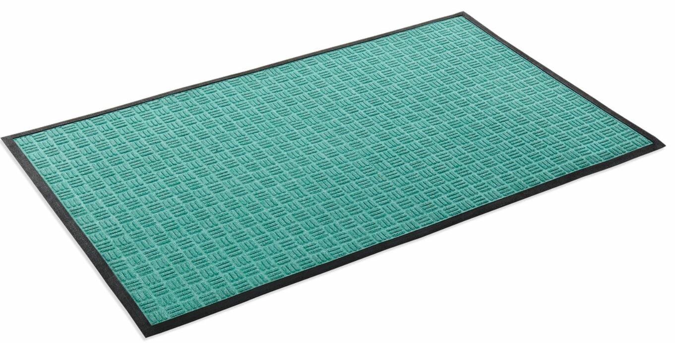 mat mainstays mats door rubber fret coir doormat c kp