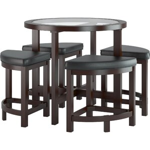 Belgrove 5 Piece Bistro Set by CorLiving