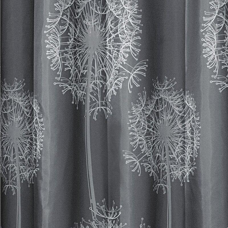 InterDesign Dandelion Shower Curtain Reviews