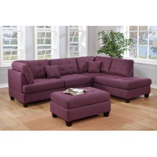 Tapscott Reversible Sectional with Ottoman