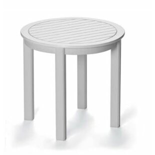 Marine Grade Polymer Tables Aluminum Side Table by Telescope Casual Coupon