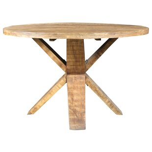 Gayla 48 Solid Wood Dining Table Bloomsbury Market