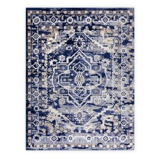 Order Eccleshall Blue Area Rug By Bloomsbury Market