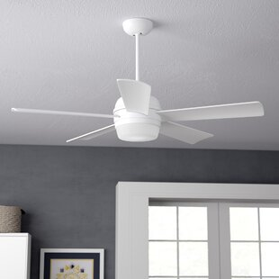 Reviews 52 Argelia 5 Blade LED Ceiling Fan By Zipcode Design