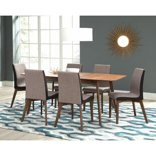 Pruden 7 Piece Dining Set Brayden Studio