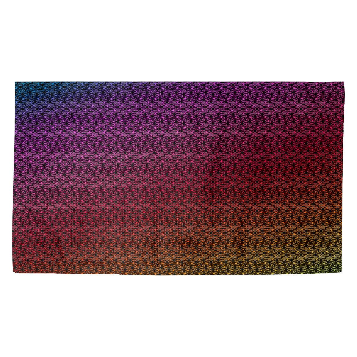 Latitude Run Avicia Hexagonal Lattice Dark Purple Area Rug Wayfair