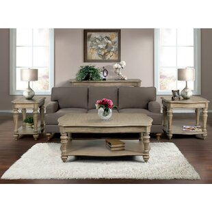 Virgouda 3 Piece Coffee Table Set  sc 1 st  Birch Lane & Gracie Oaks Coffee Table Sets | Birch Lane