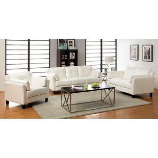 Newport 3 Piece Living Room Set by A&J Homes Studio