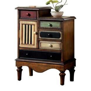 Pinheiro Vintage 5 Drawers Accent Chest by August Grove