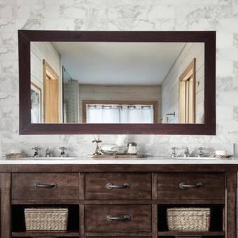 Charlton Home Simoneaux Traditional Bathroom Vanity Mirror Wayfair