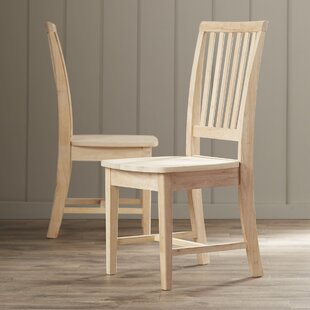 Shop For Lynn Solid Wood Dining Chair (Set of 2) by Mistana Reviews (2019) & Buyer's Guide