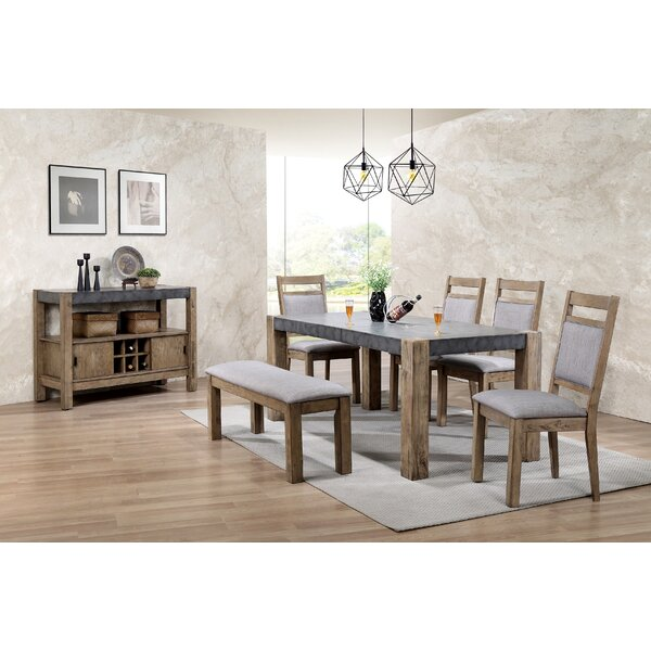 Roundhill Furniture Costabella 7 Piece Dining Set & Reviews