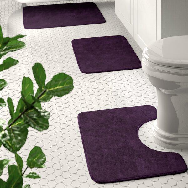 Purple Bathroom Rug Sets Wayfair