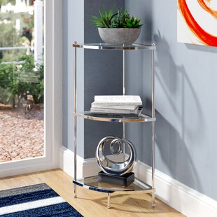 Stamford 3 Tier Corner Unit Bookcase by Wrought Studio