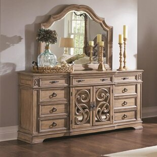 Maumelle Wooden 9 Drawers Double Dresser by Fleur De Lis Living Savings