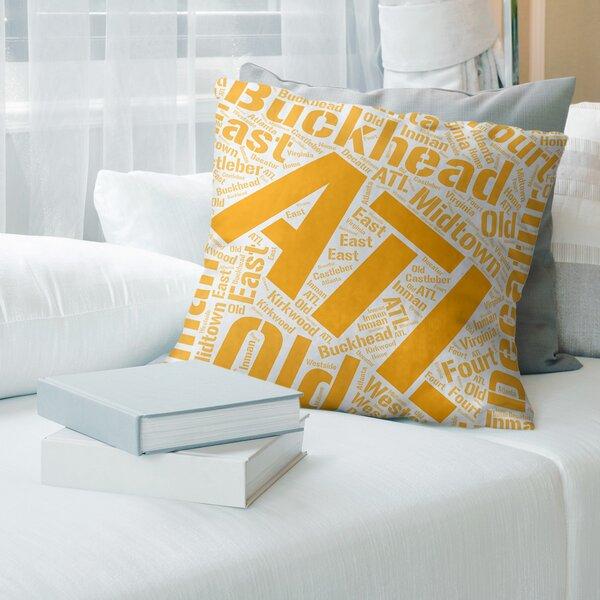 East Urban Home Rand Cites Throw Pillow Wayfair