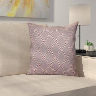 Decorative Holiday Geometric Print Throw Pillow