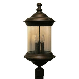 Phillipstown 3 Light 24.5 Post Lantern By Alcott Hill Outdoor Lighting
