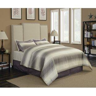 Belair Upholstered Panel Bed by Brayden Studio