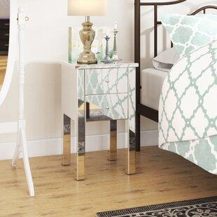Dalveen Mirror End Table by Mercer41