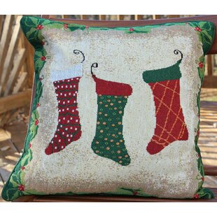 socks decorative throw pillow cover - Christmas Decorative Pillow Covers