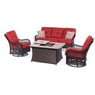 Nunda 5 Piece Sofa Set with Cushions
