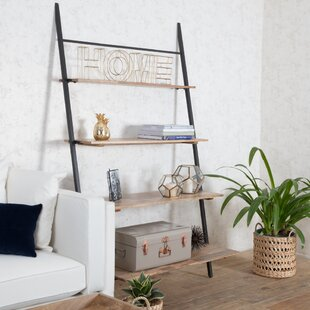 Nickerson Shelf Ladder Bookcase Union Rustic