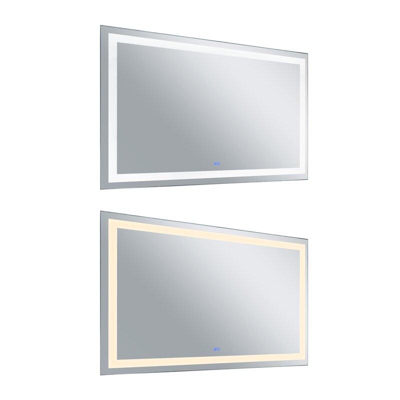 Cwilighting Abril Modern Contemporary Bathroom Vanity Mirror Wayfair