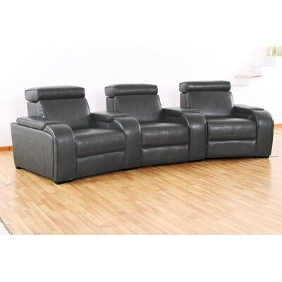 Astounding Meadows Home Theater Recliner Row Of 3 Wildon Homea Type Andrewgaddart Wooden Chair Designs For Living Room Andrewgaddartcom
