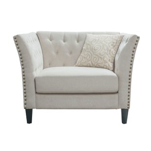Speidel Tufted Chenille Chair and a Half