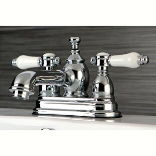 Bel Air Centerset Bathroom Faucet with Drain Assembly By Kingston Brass