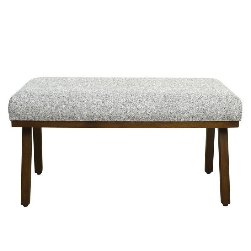 Zachary Decorative Upholstered Bench
