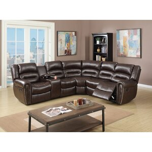 Reclining Sectional  sc 1 st  Wayfair : leather sectionals recliners - islam-shia.org