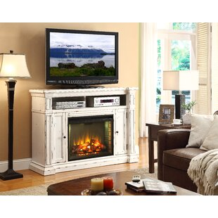New Castle TV Stand for TVs up to 65 with Fireplace