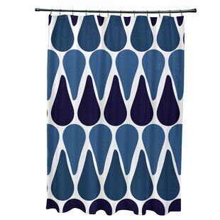 Golden Gate Contemporary Single Shower Curtain