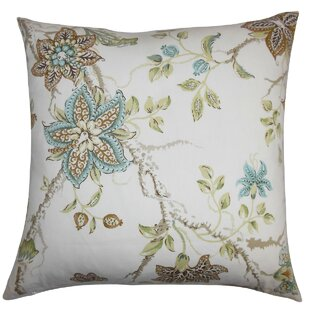 Ithaca Floral Throw Pillow Cover